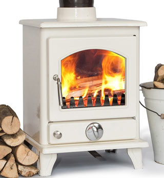 Enamel Wood Burning Stoves